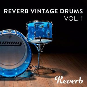 Reverb Vintage Drum Samples Vol. 1 Ludwig Drum Kits Samples & Loops Blog Post Image