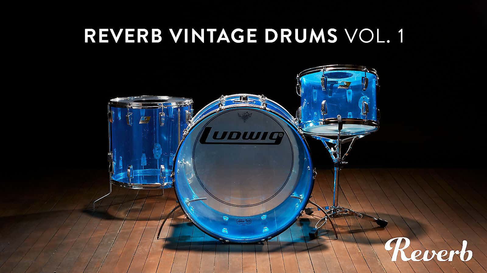 Reverb Vintage Drum Samples Vol. 1 Ludwig Drum Kits Samples & Loops Feature Image